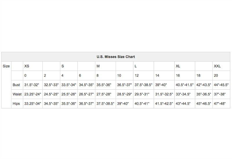 89463d9675 U.S. Women s Apparel Size Charts