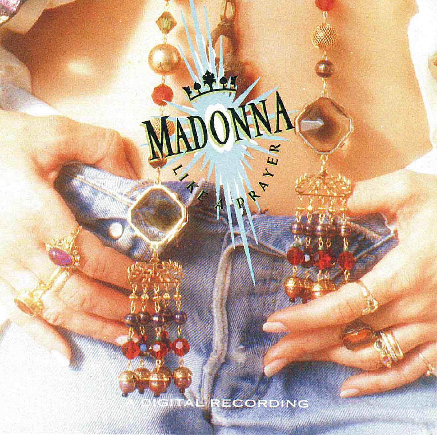1989's 'Like a Prayer' LP cover