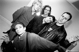 California punk band Bad Religion in an early-'90s portrait session.