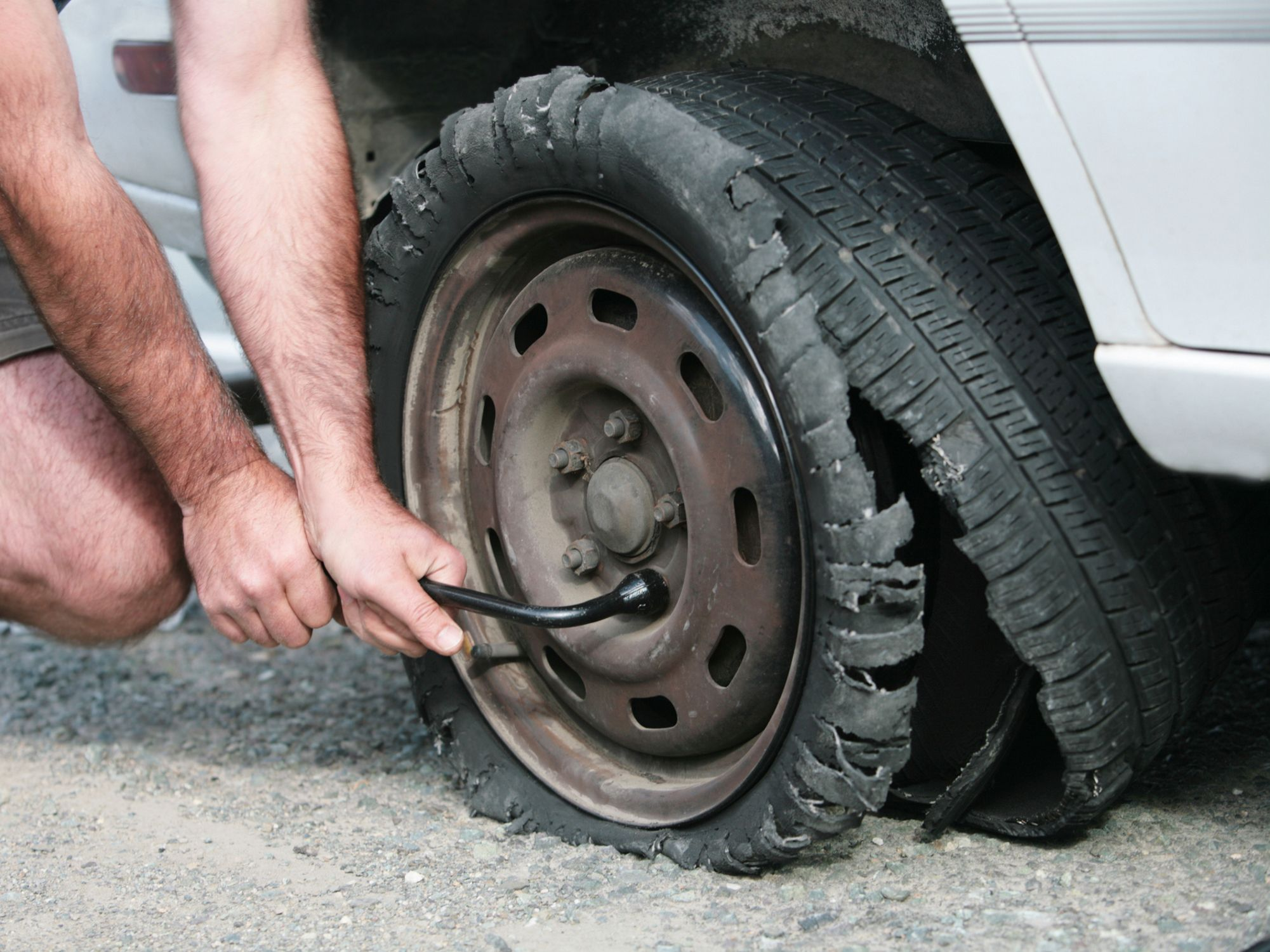tire pressure light  flashing