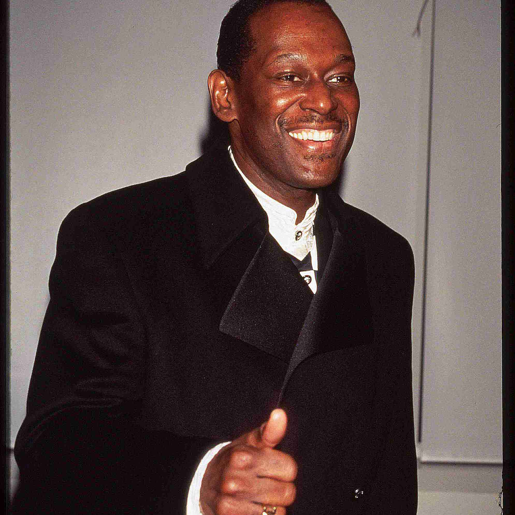 Luther Vandross candid photo