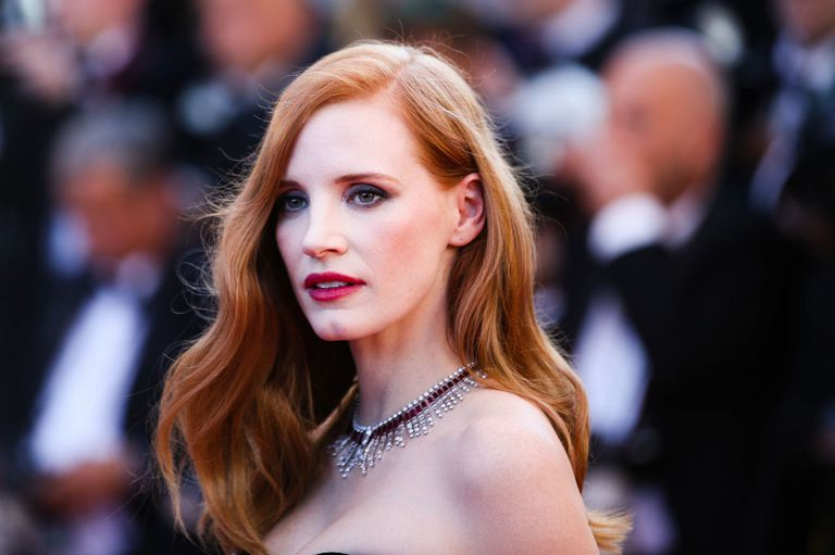 Actress Jessica Chastain Cannes Film Festival