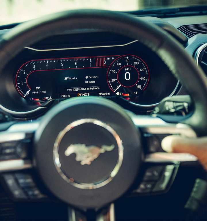 Mustang Interior Light Settings