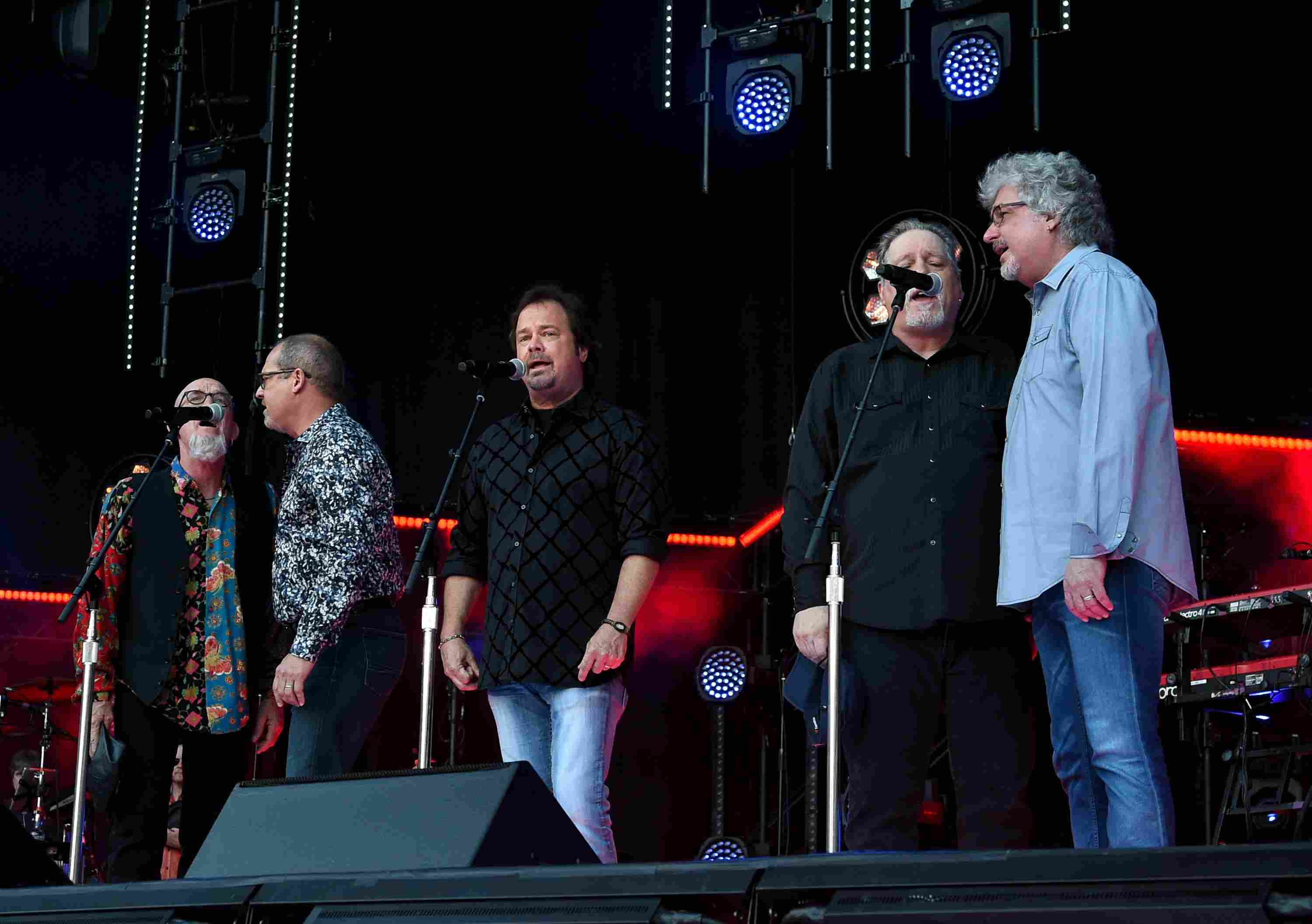 Restless Heart performing onstage.