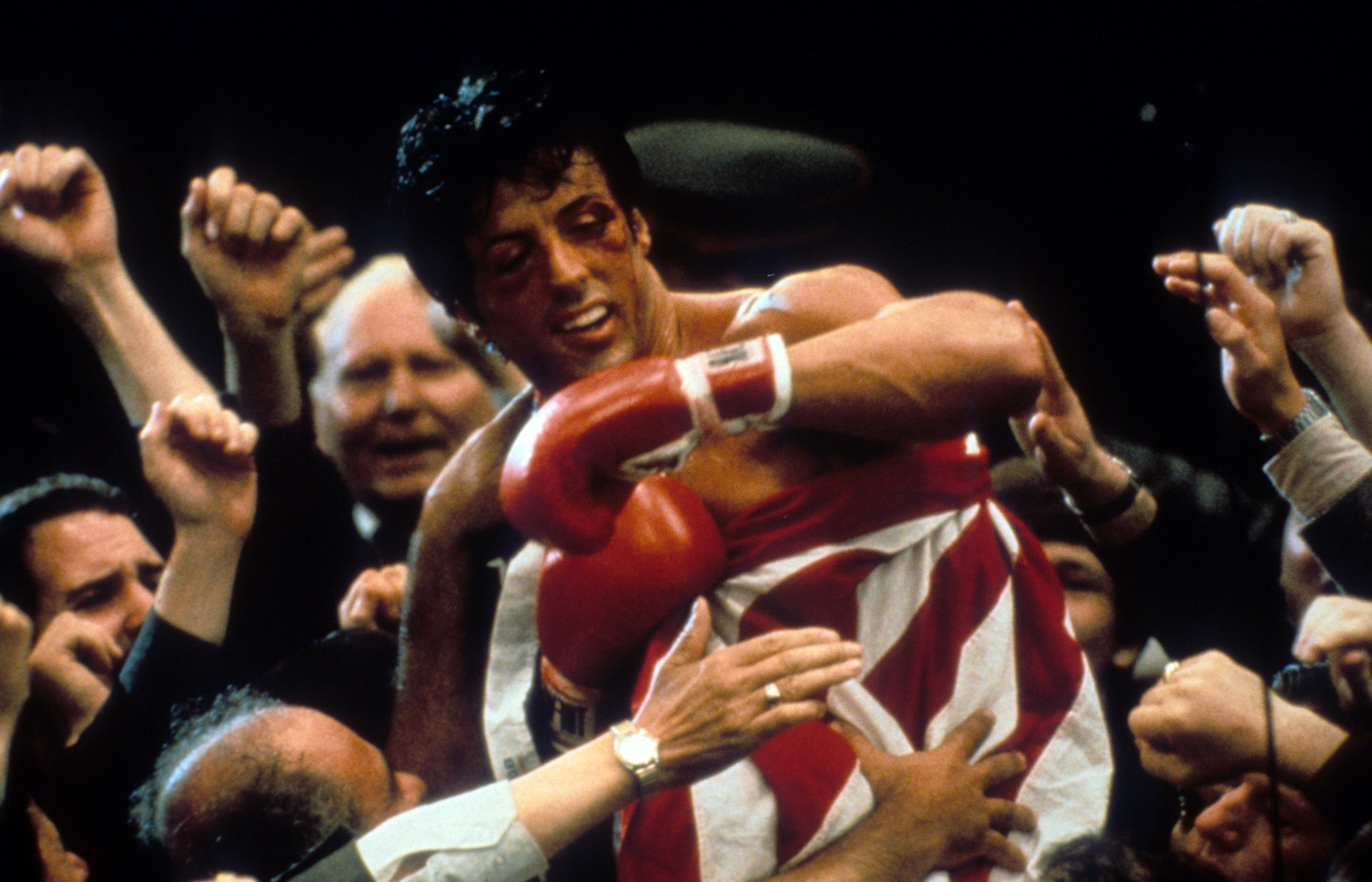 Sylvester Stallone In 'Rocky IV'