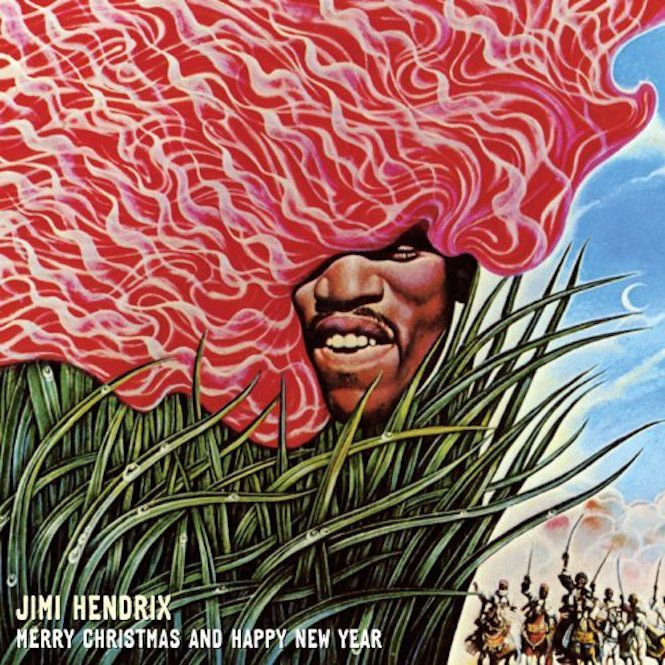 """""""Merry Christmas and Happy New Year"""" by Jimi Hendrix"""