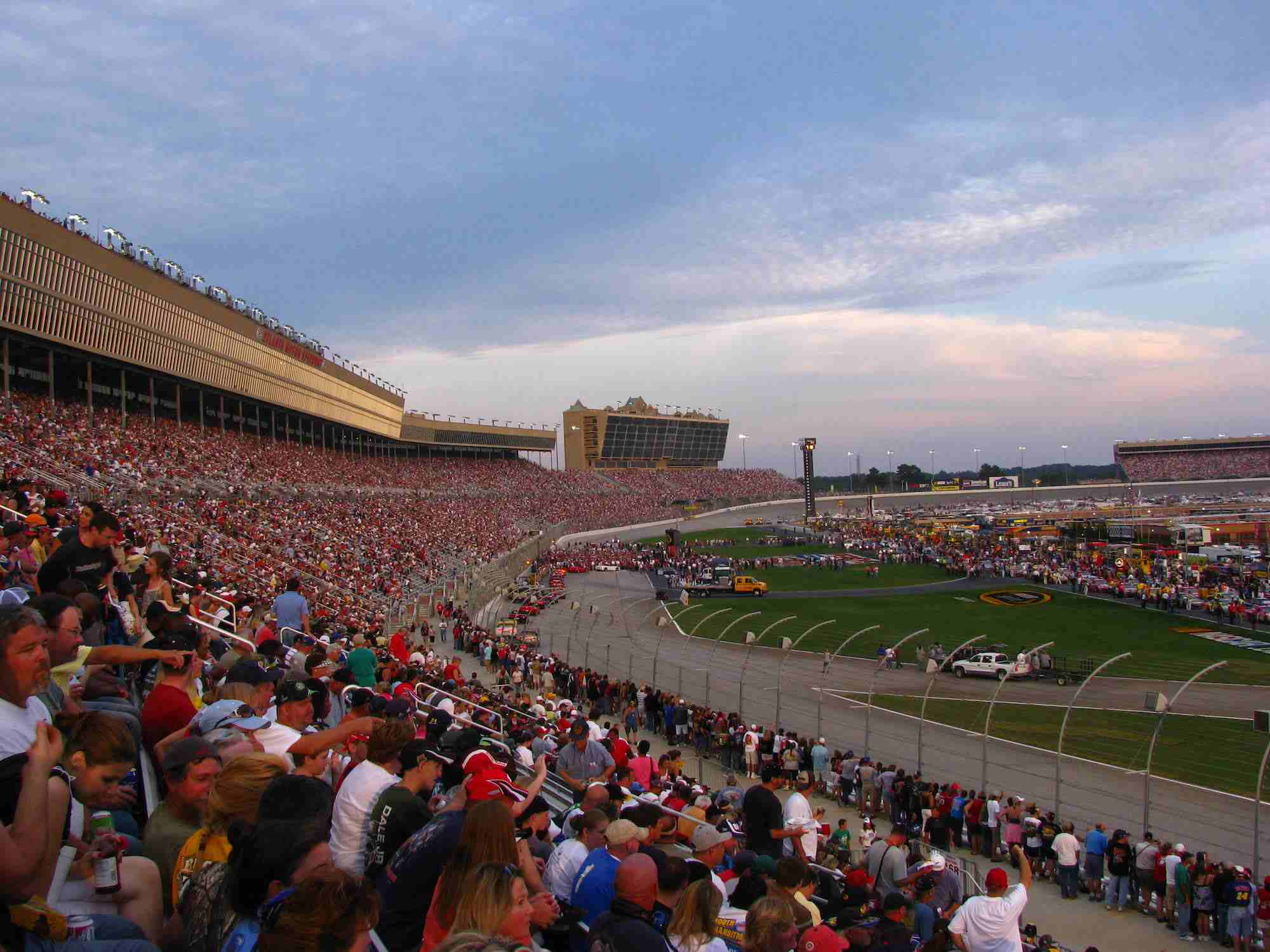 Pre-Race Events at the 2009 Pep Boys Auto 500.