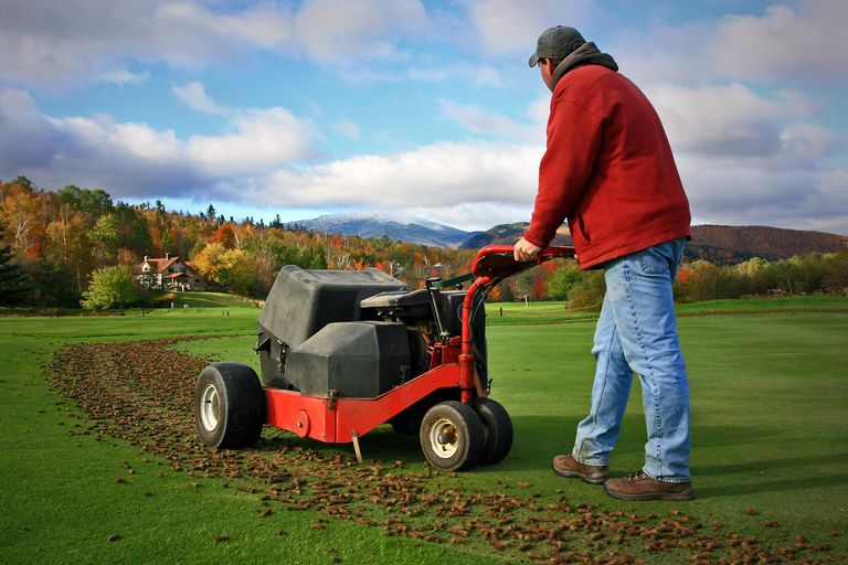 Understanding the Process of Aerifying Golf Courses