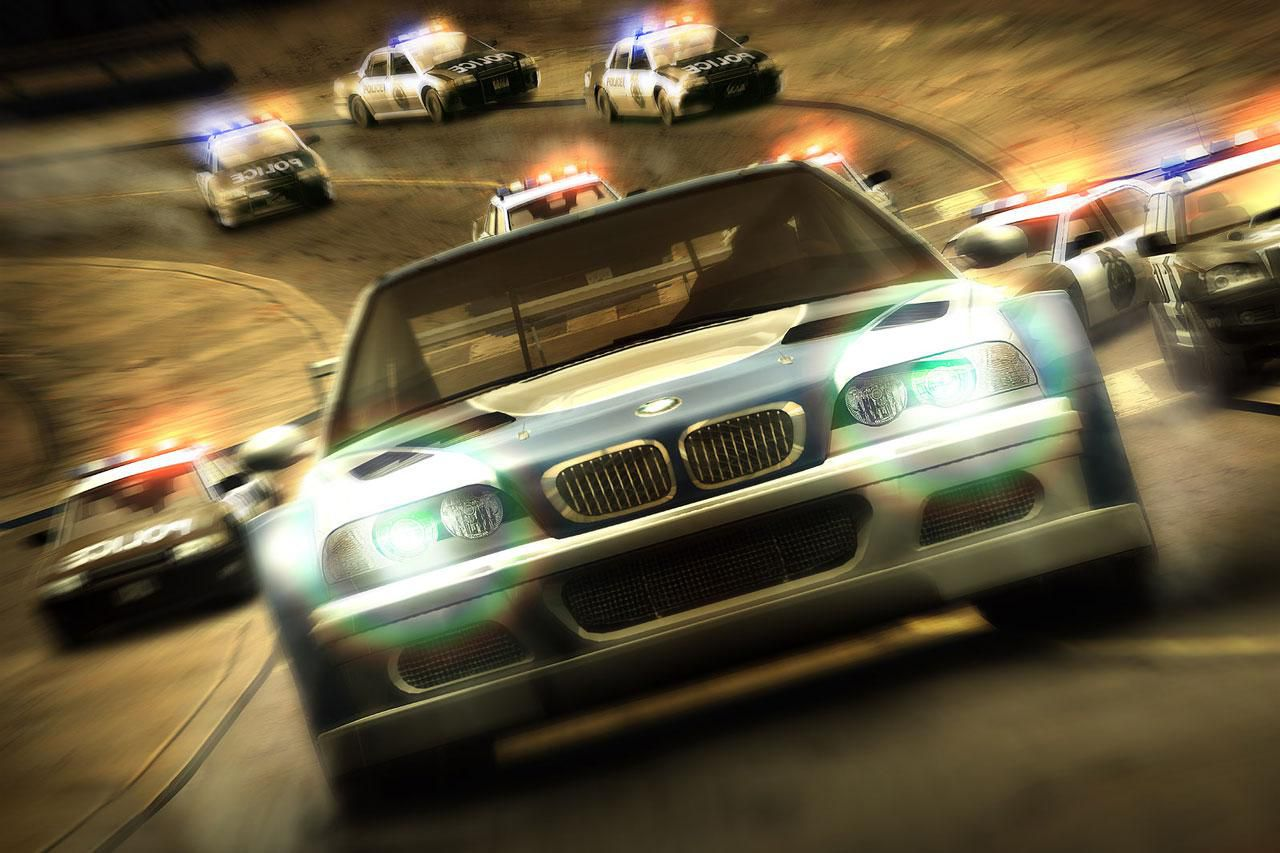 Need For Speed: Most Wanted 5-1-0 game.