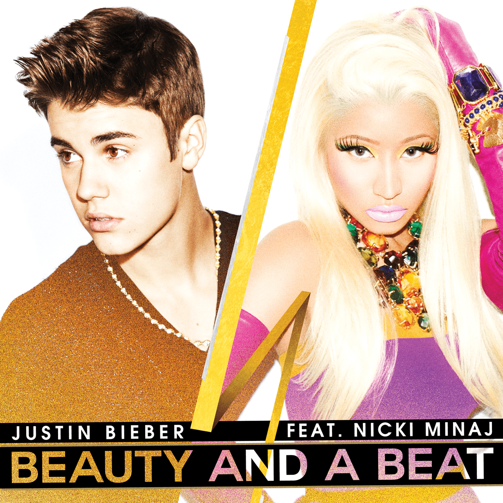 Justin Bieber, Beauty and a Beat featuring Nicki Minaj cover