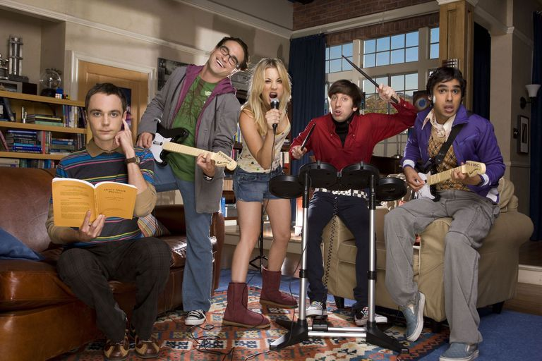 Big Bang Theory cast members