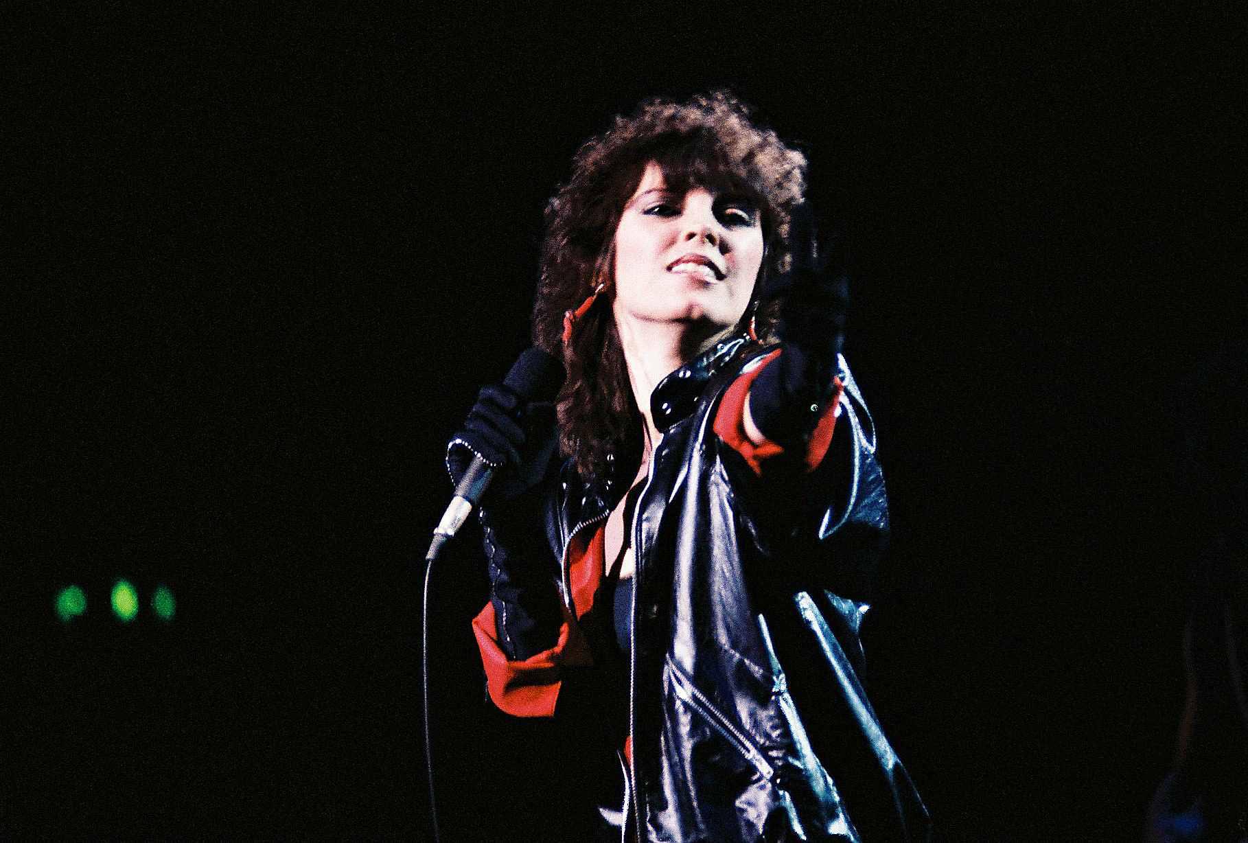 Pat Benatar Performs At Hammersmith Odeon 1983