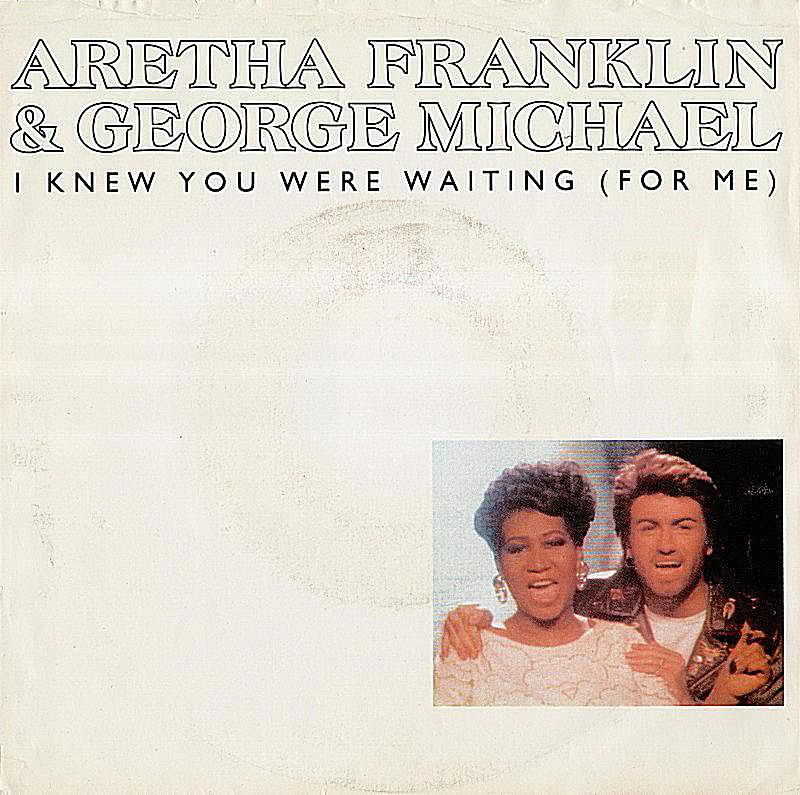 Though technically an Aretha Franklin single, this song certainly qualifies as one of George Michael's finest '80s songs. Single cover