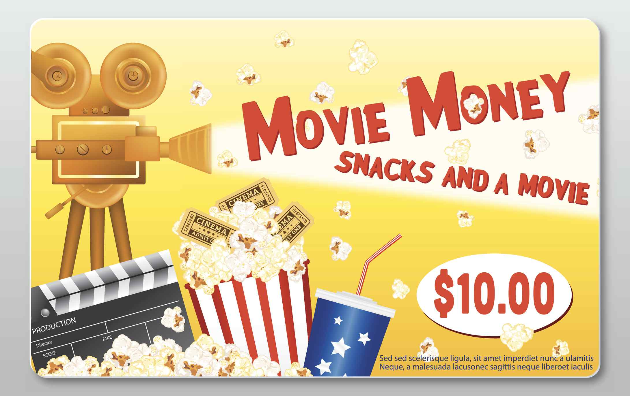Movie Theater Gift Card