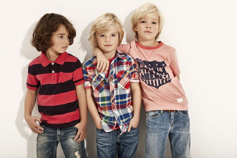 Back to school jeans trends - boys in jeans