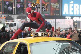 Still from Spiderman movie