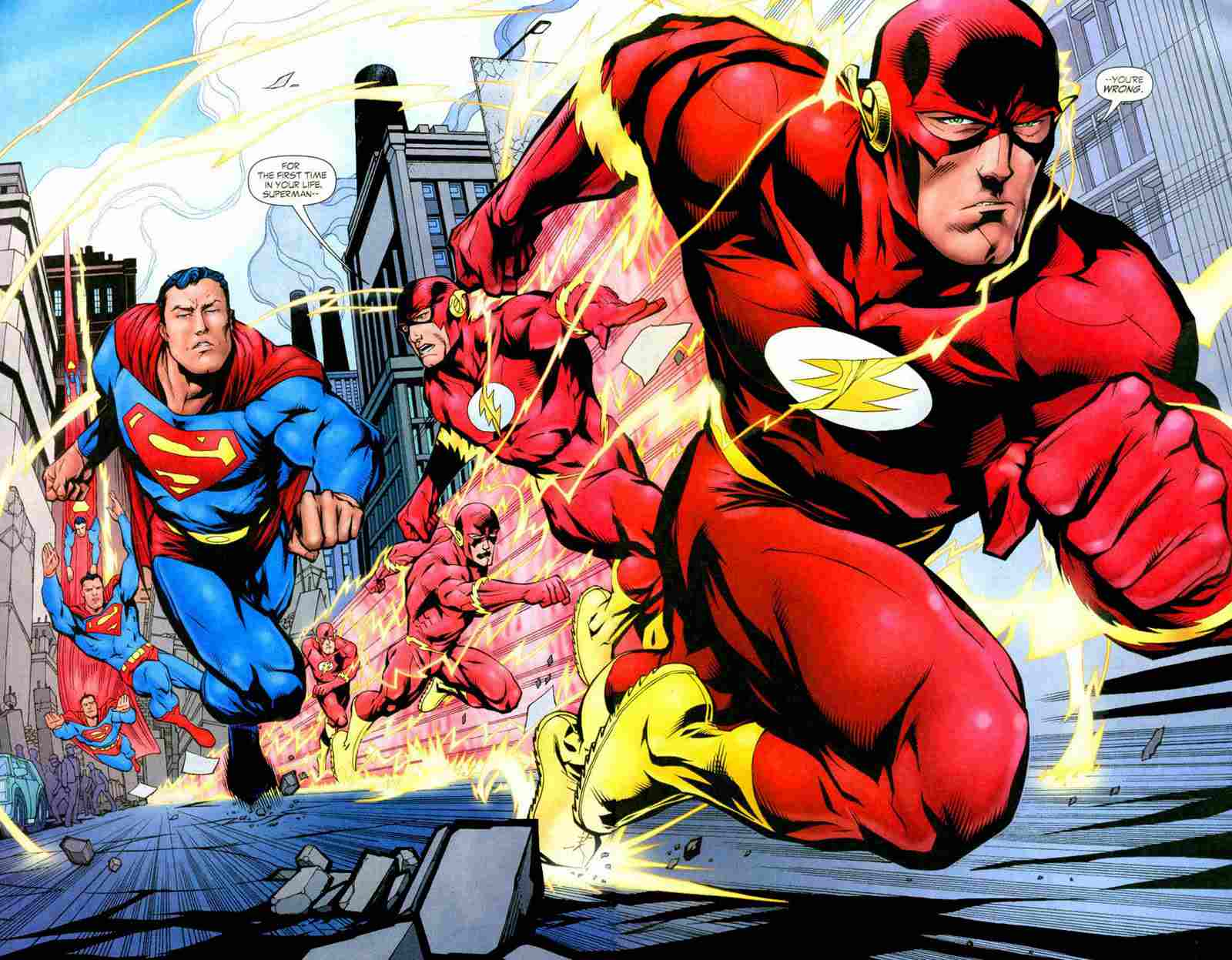 9 Greatest Superman vs. Flash Races of All-Time