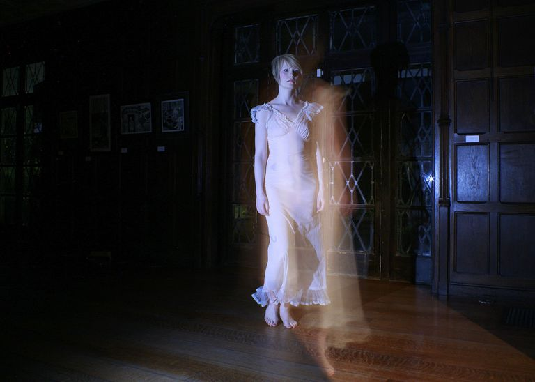 Apparitions play a role in the scariest hauntings.