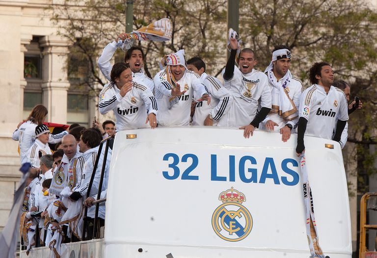 Real Madrid 32 ligas