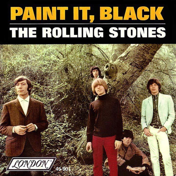 Rolling Stones Paint It Black