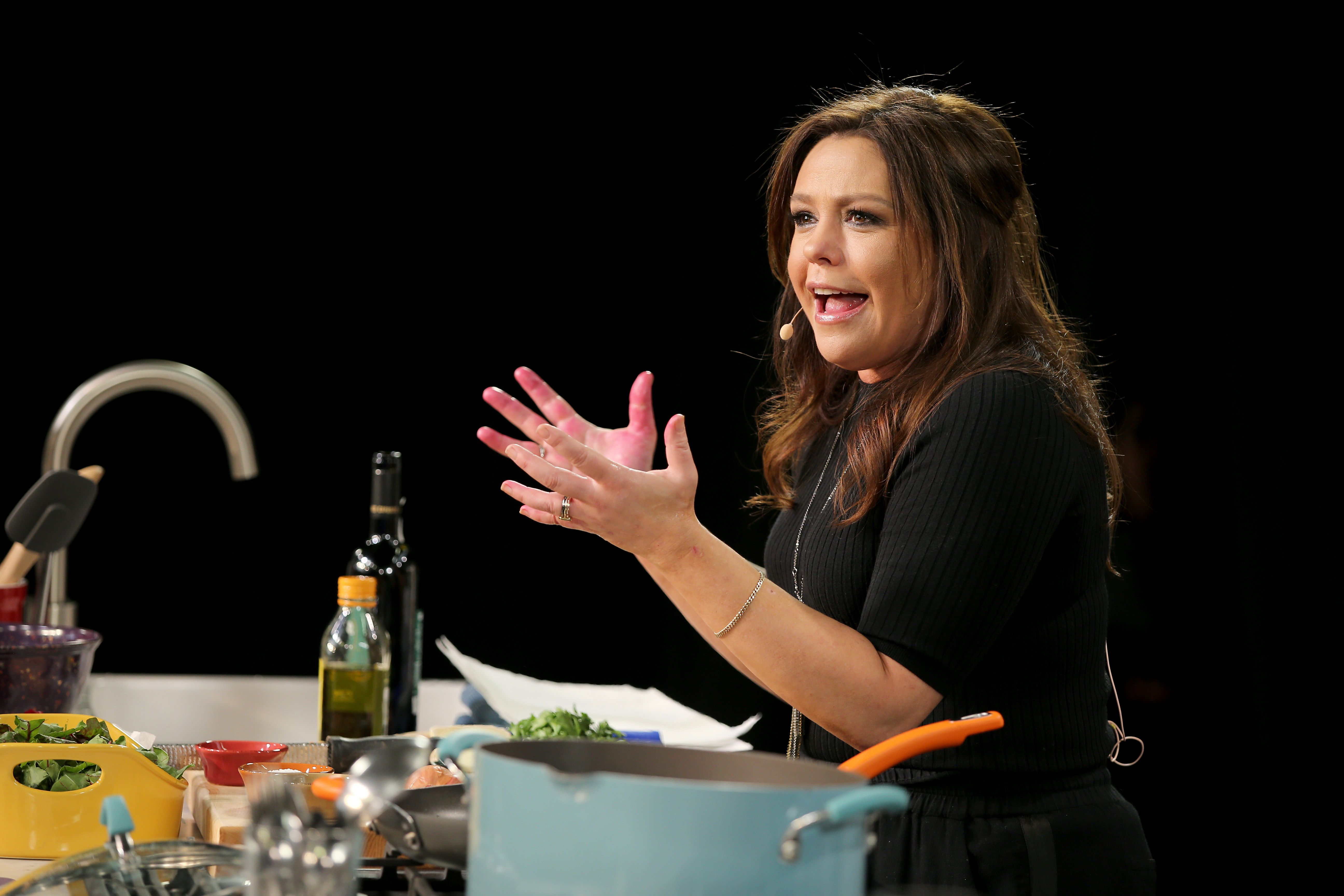 Talk show host Rachael Ray
