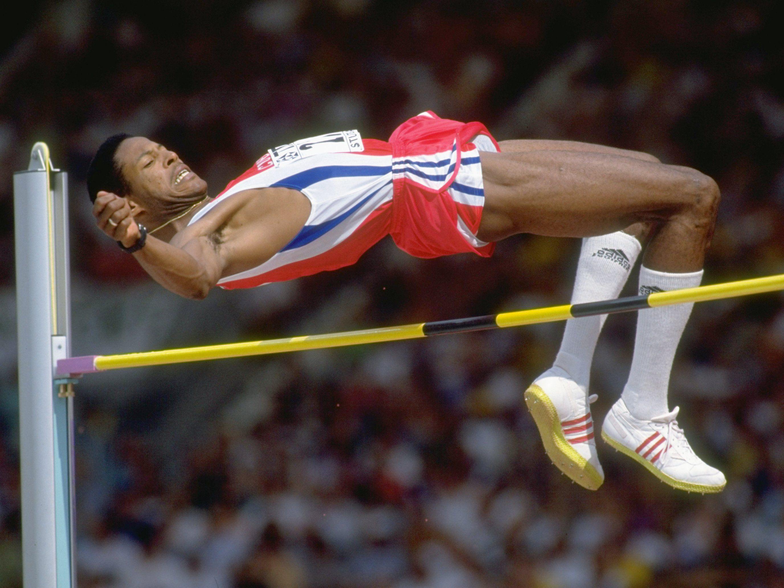 Men S High Jump World Records