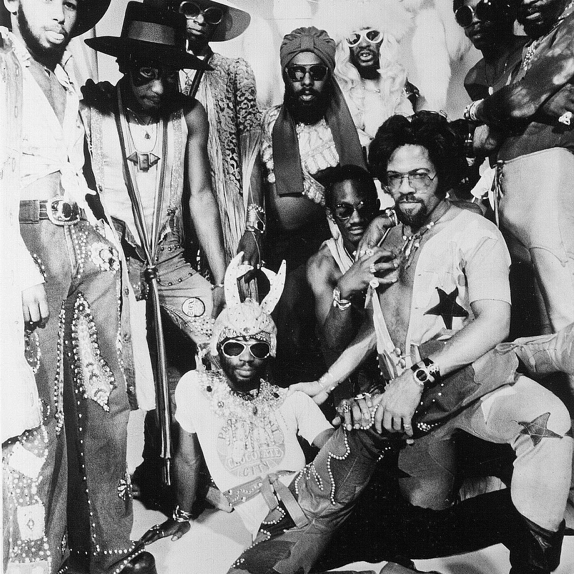 The band Parliament-Funkadelic.