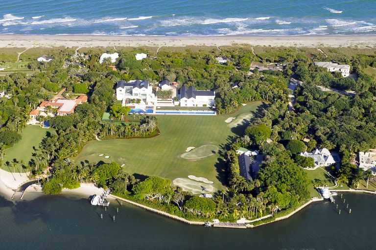 Tiger Woods House On Jupiter Island Florida