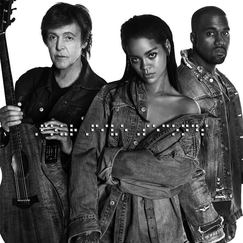 Rihanna, Kanye West, and Paul McCartney - FourFiveSeconds