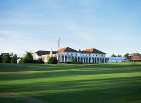 The clubhouse of the Pinehurst Resort in North Carolina