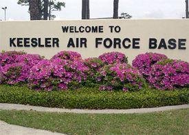 Keesler Air Force Base sign