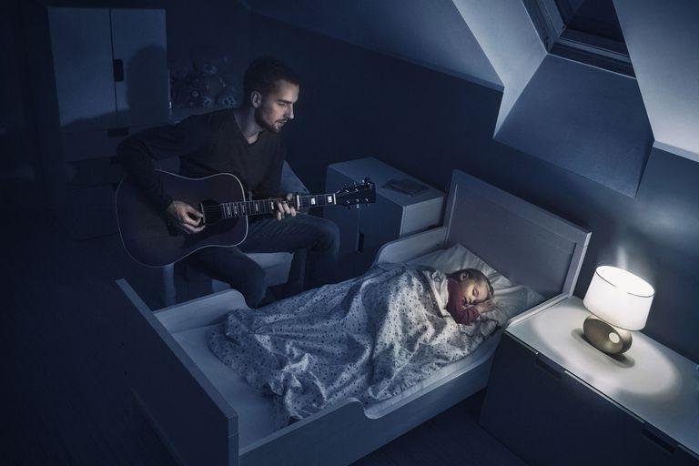 Father Singing Lullabies