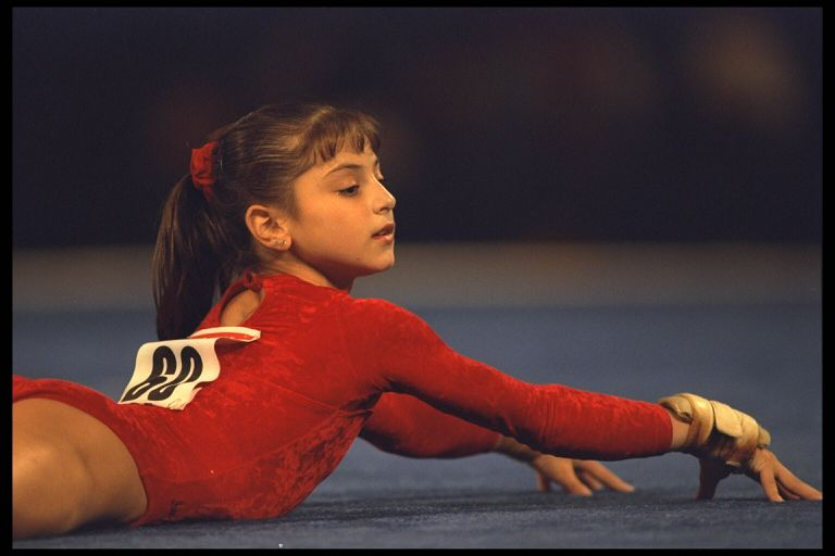 Dominique Moceanu 1995