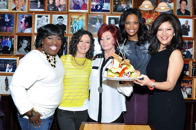 'The Talk' Co-Hosts Unveil The TALKwich Sandwich At The Carnegie Deli