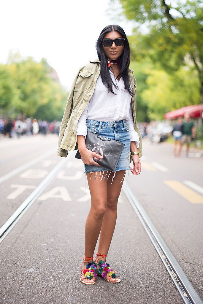 21 Perfect Outfits With A Button Down White Shirt