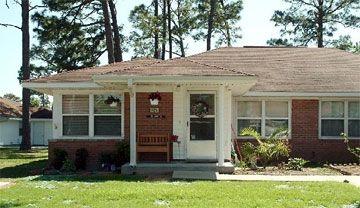 Enlisted housing at Keesler AFB