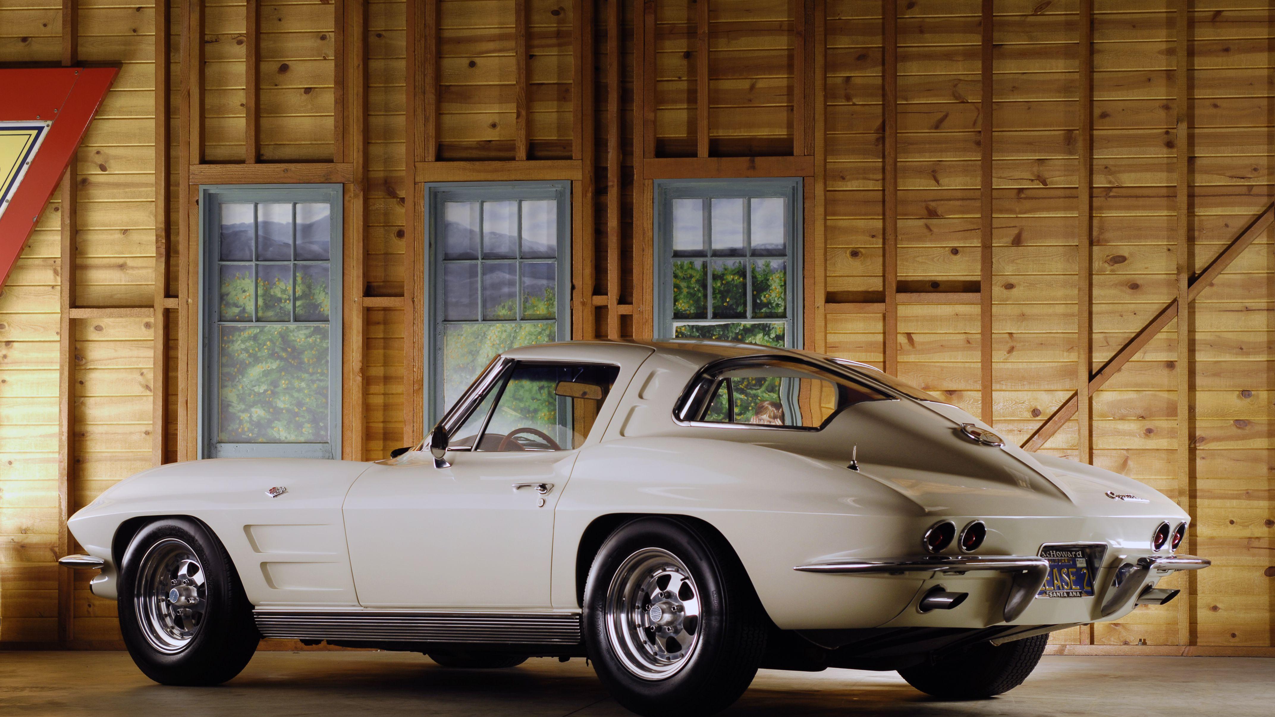 1963 Split-Window Corvette Coupe Car Profile