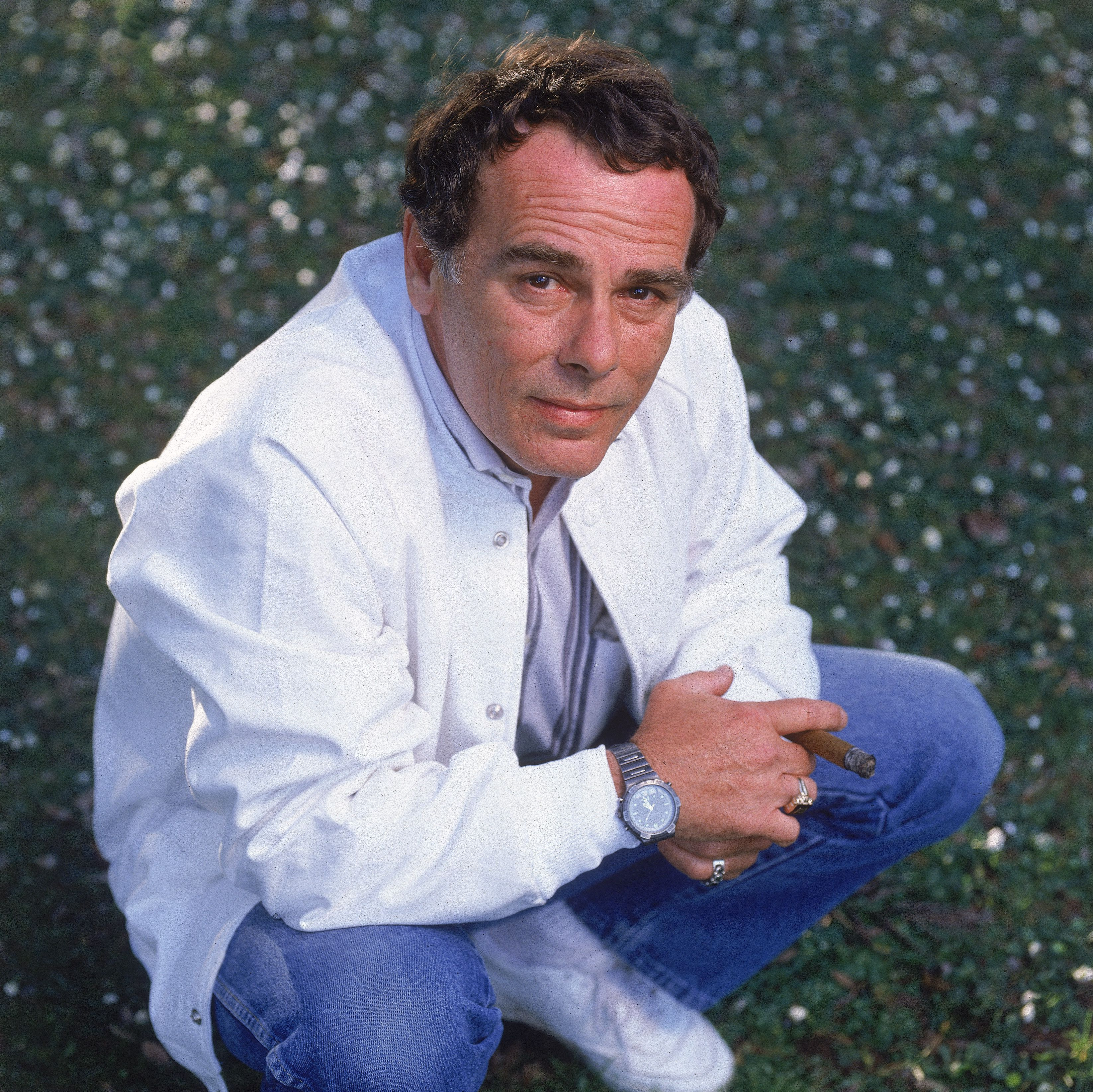 Portrait Of Actor Dean Stockwell, 1989.