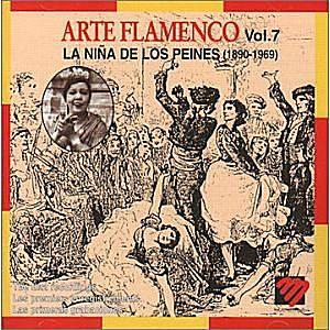 Album Cover for La Niña de Los Peines: 'Arte Flamenco'