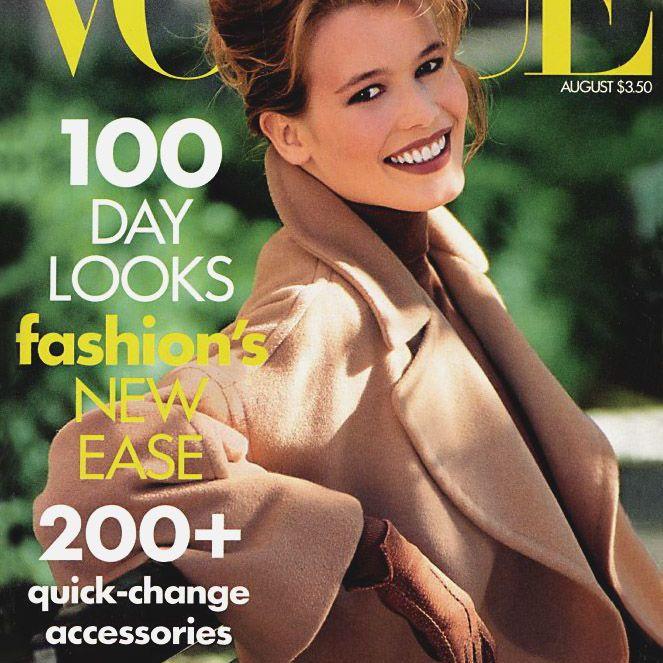 Claudia Schiffer Vogue Magazine