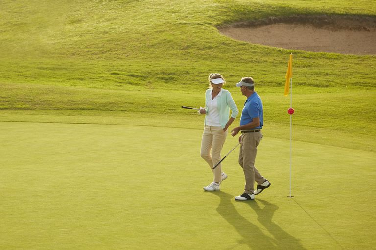 In Golf Rule 23, two golfers play as partners.