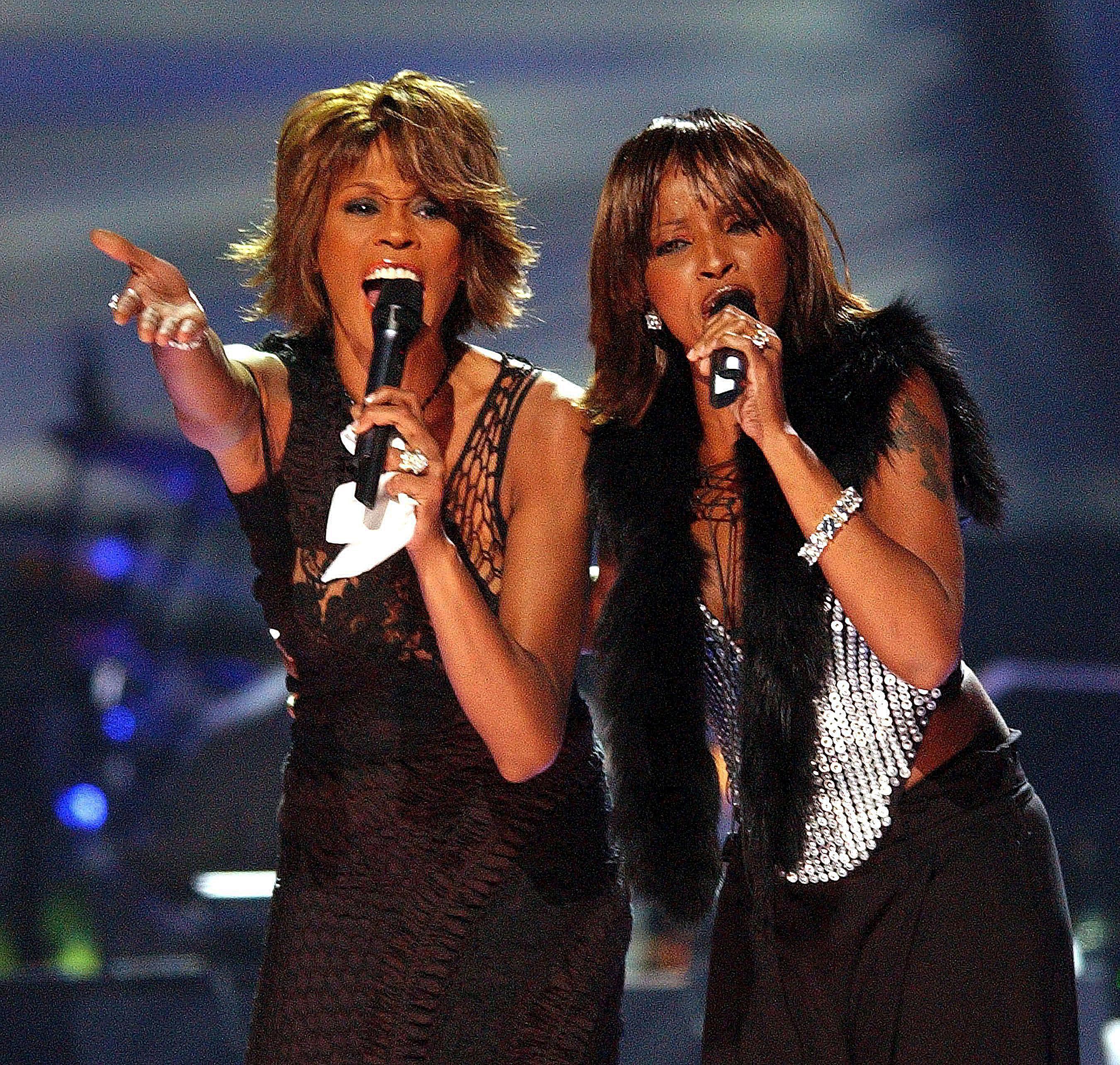 Whitney Houston and Mary J. Blige