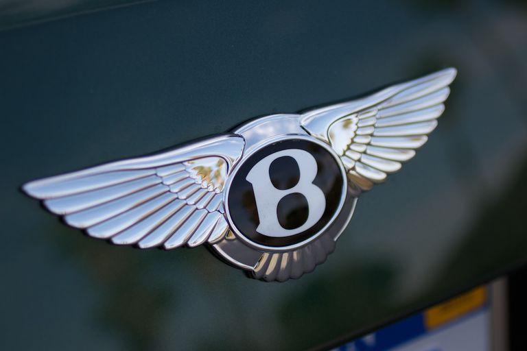 2013 Bentley Mulsanne badge