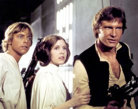 On the set of Star Wars: Episode IV