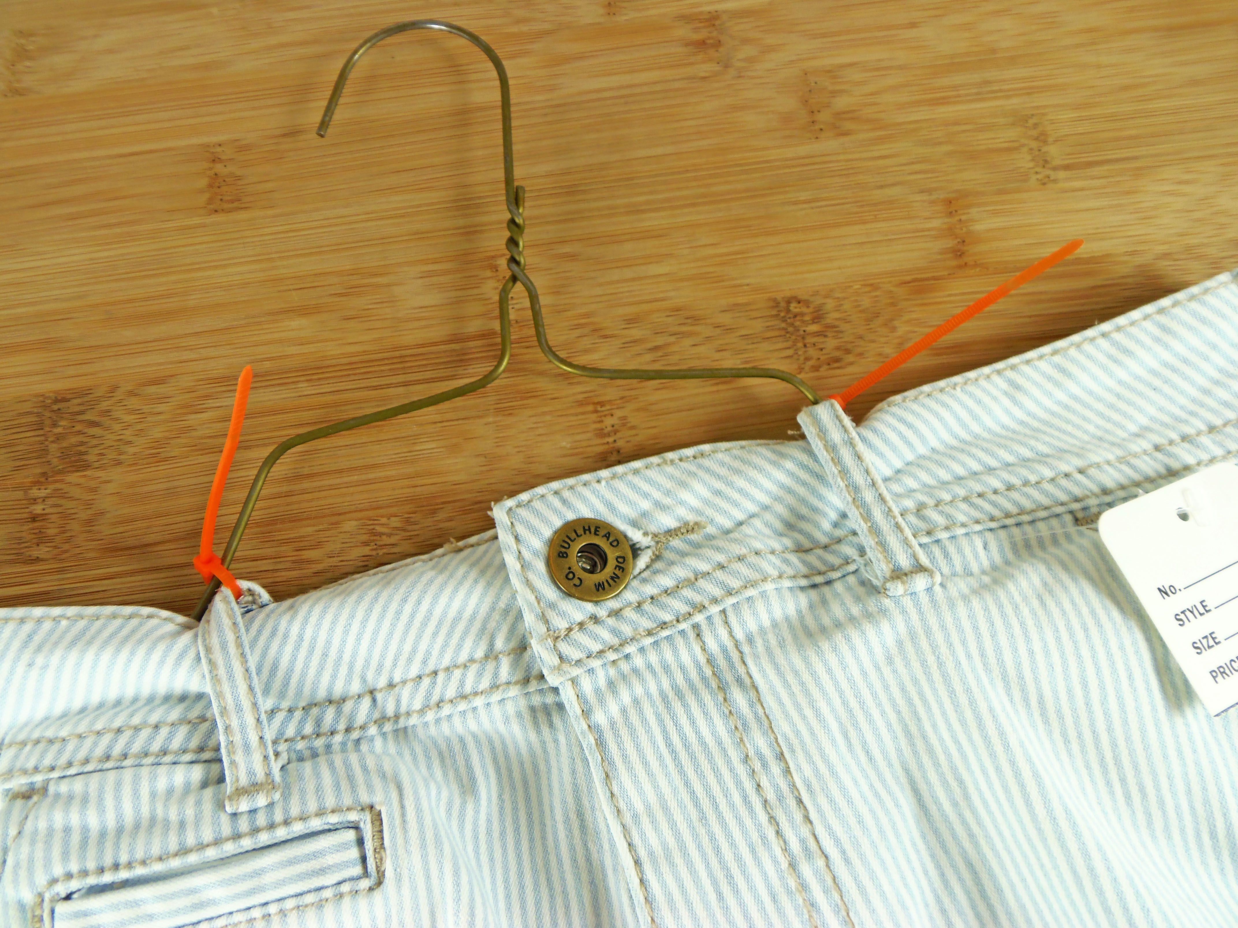 Hang Pants with Zip Ties