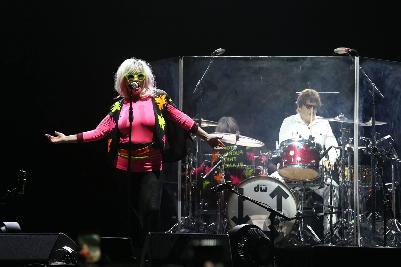 Debbie Harry of Blondie performs during KAABOO Del Mar