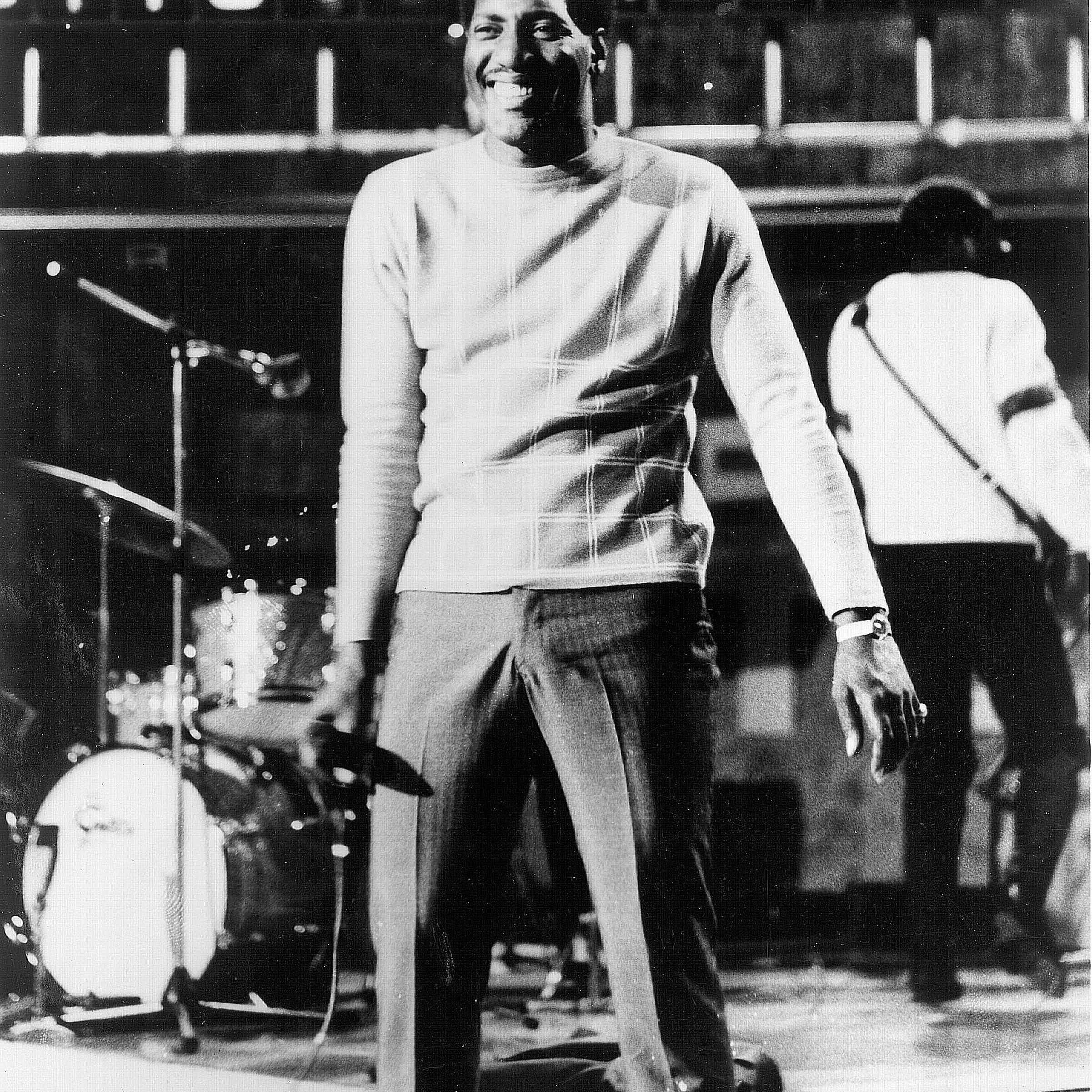 Otis Redding during a performance
