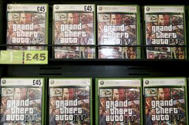 Grand Theft Auto Four launches in London