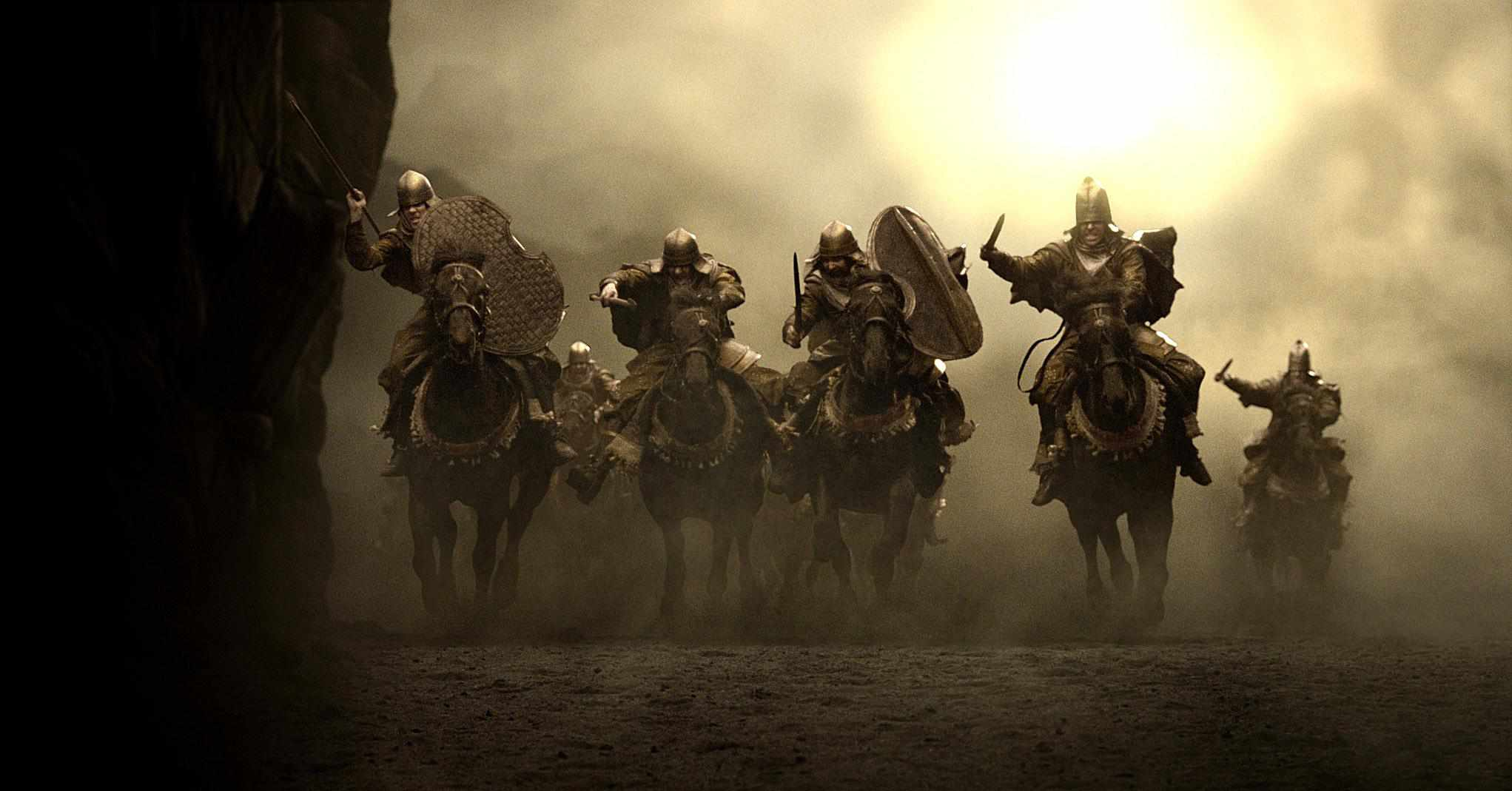 The Persian Cavalry