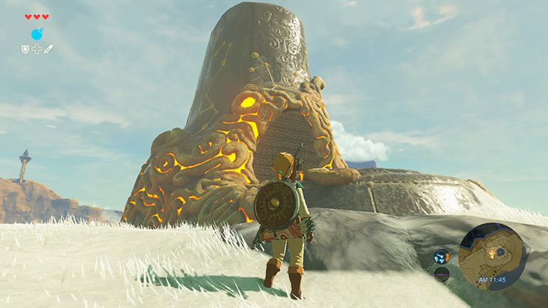 Screenshot of Legend of Zelda: Breath of the Wild